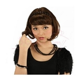 HAIR PIECES HEADBAND, BLACK