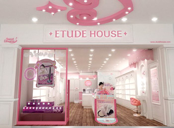 Etude House Is A Cosmetics Brand For Make Up, Hair And Body Care Products.  The Etude House   Myeongdong Chungmuro Branch, Located In The Heart Of A  Major ...